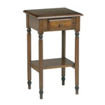 OFFICE STAR™ PRODUCTS Knob Hill Collection Telephone Table