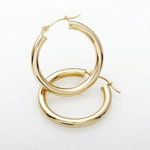 Jilco 14K Yellow Gold Hoop Earrings