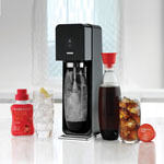 sodastream® The Source Black Metal Soda Maker