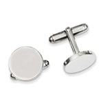 Antwerp Silver Sterling Silver Cuff Links