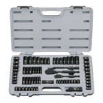 STANLEY® 69 pc. Black Chrome Socket Set