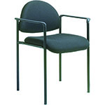 BOSS Office Products® Stacking Chair w/Arm