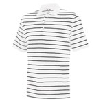 adidas® Climalite Men's 2-Color Stripe Polo