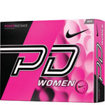 Nike Power Distance Women Pink Golf Balls - 12 Pack