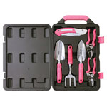 APOLLO® PRECISION TOOLS 6 pc. Garden Tool Kit w/Case