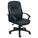 BOSS Office Products® LeatherPlus Office Chair
