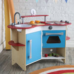 Melissa & Doug® Cook's Corner Wooden Kitchen