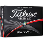 Titleist® Pro V1x Golf Balls - 12 Pack
