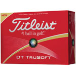 Titleist® DT TruSoft Golf Balls - 12 Pack