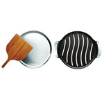 Cuisinart® Cast Iron Grilled Pizza Set
