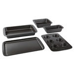 Baker's Secret Easy Store 5 pc. Bakeware Set