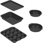 Baker's Secret Essentials 5 pc. Bakeware Set