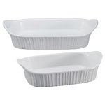 Corningware® French White 2 pc. Rectangular Baking Dish Set