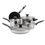 FARBERWARE® High Performance 12 pc. Stainless Steel Cookware Set
