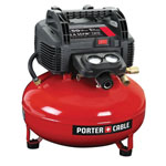 PORTER CABLE® 150 psi 6 gal. Oil-Free Pancake Compressor Kit