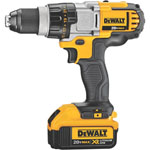 DEWALT® 20V MAX Li-Ion Premium 3-Speed Drill/Driver Kit