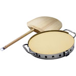Broil King® Pizza Stone Grill Set
