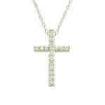 Antwerp Diamonds Classic 14K Gold & Diamond Cross Pendant