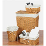 CreativeWare Wickerworks 4 pc. Hamper Set