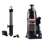CRAFTSMAN® Professional 6 Ton Bottle Jack & Cordless LED Worklight Bundle