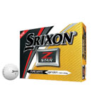 Srixon 2017 Z-Star Pure White Golf Balls - 12 Pack