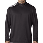 adidas® Men's 3-Stripes Classic 1/4 Zip Pullover