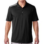 adidas® Men's Climacool Shoulder 3-Stripes Polo