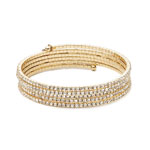 ANNE KLEIN Crystal Multi-Row Flex Bracelet