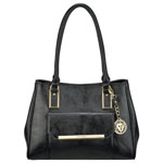ANNE KLEIN Shimmer Down Large Satchel