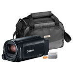 Canon® VIXIA HF R80 16GB HD Camcorder w/Soft Case & 16GB Micro SD Card