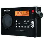 SANGEAN® AM/FM Digital Rechargeable Radio