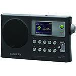 SANGEAN® Portable WiFi Internet/FM Radio