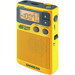 SANGEAN® AM/FM Digital Pocket Radio w/Weather Alert