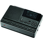 SANGEAN® AM/FM Alarm Clock Radio w/S.A.M.E. Weather Hazard Alert