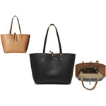 HButler Reversible Tote w/Mighty Purse Wristlet