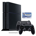 PS4™ Slim 500GB Console w/2 DUALSHOCK 4 Wireless Controllers & Headset