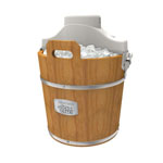 West Bend® Ice Crazy 4 qt. Ice Cream Maker w/Wooden Bucket