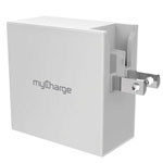 myCharge® PowerBase QC 4-Port Wall Charging Hub