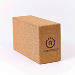 Lifeline Natural Fitness Cork Yoga Block