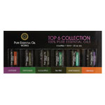 PURE ESSENTIAL OIL WORKS Top 6 Collection Essential Oils