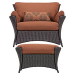HANOVER™ OUTDOOR Strathmere Allure 2 pc. Outdoor Chair Set