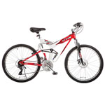 TITAN Fusion Pro 21-Speed Dual Suspension Mountain Bike