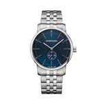 Wenger® Men's Urban Classic Silver-Tone Watch w/Subdial