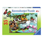 Ravensburger Day At The Zoo Children's Puzzle