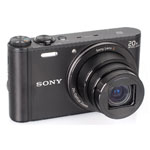 SONY® Cyber-shot 18.2 MP Compact Digital Camera w/20x Optical Zoom