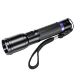 POLICE SECURITY DuoLite Flashlight w/Dual Beam Technology