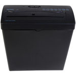 ROYAL® 6-Sheet Cross-Cut Shredder w/Basket