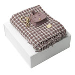 cacharel Scarf & Key Ring Set