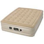 WENZEL Serta® Raised Queen Air Bed w/Built-In NeverFlat™ Pump