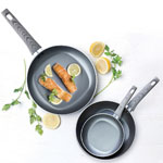Not a Square Pan™ 3 pc. Classic Non-Stick Fry Pan Set